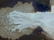 Glaciar Quintín, Chile, visto desde espacio