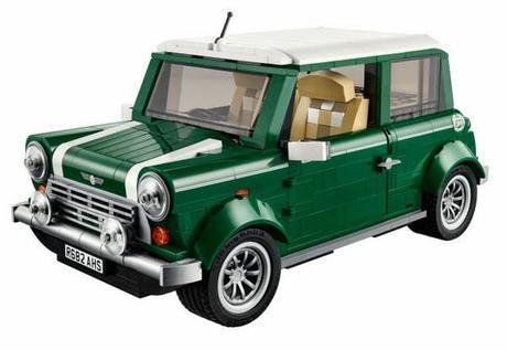 Un icono de la automoción en 1077 piezas: Lego Mini Cooper.