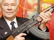 Kaláshnikov: creador fusil arrepintió haberlo inventado