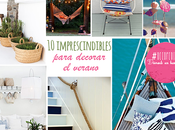 imprescindibles para decorar verano