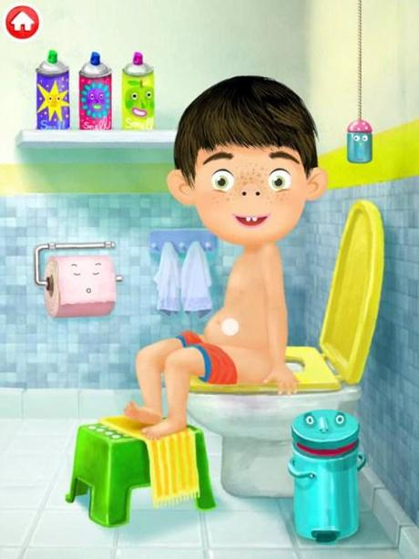 Juegos De Ir Al Baño A Hacer Popo:Hora de ir al baño, hacer pis, caca y limpiar bien el culete y si