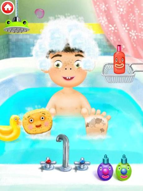 Juegos De Ir Al Baño A Hacer Popo: del agua o cámbiala de color para hacer el baño más divertido