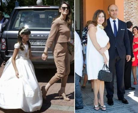 Vestidos de comunion hijas de famosas