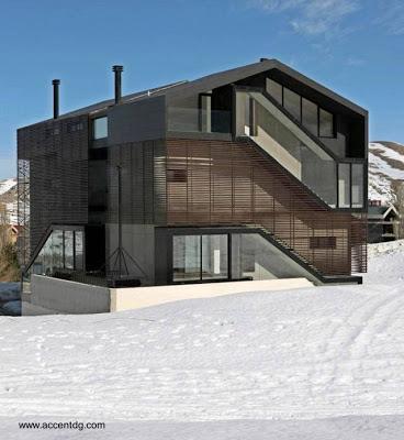 Casas modernas tipo chal paperblog for Estilo literario contemporaneo