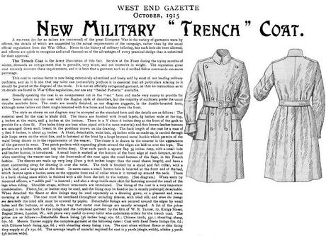 Trend Alert: TRENCH ME NOW  !!!