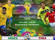 Partido Brasil Chile Octavos Final Mundial 2014