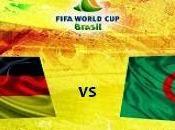 Partido Alemania Argelia Octavos Final Brasil 2014