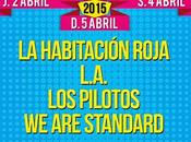 SanSan Festival 2015: Habitación Roja, Standard, Pilotos