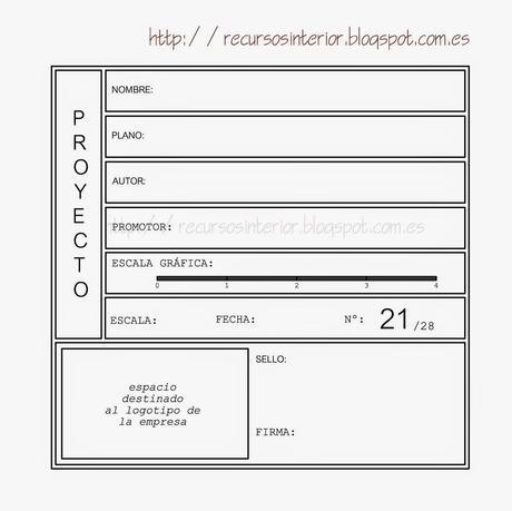 Descargar cajet n dwg gratis profesional 5 paperblog for Pie de plano arquitectonico pdf