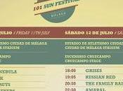 Horarios Festival malagueño