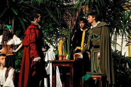 Representación de Don Juan Tenorio en el Colegio Santa Ana