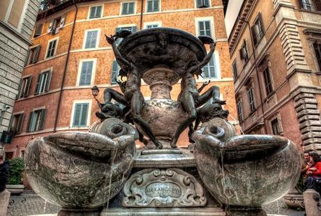 La Fontana della Tararughe simbolo de Roma