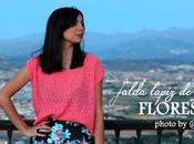 Falda Lápiz Flores