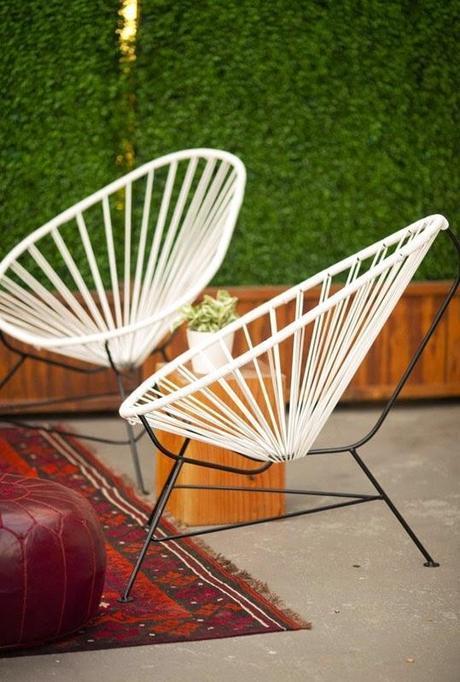 decoracion retro acapulco chair