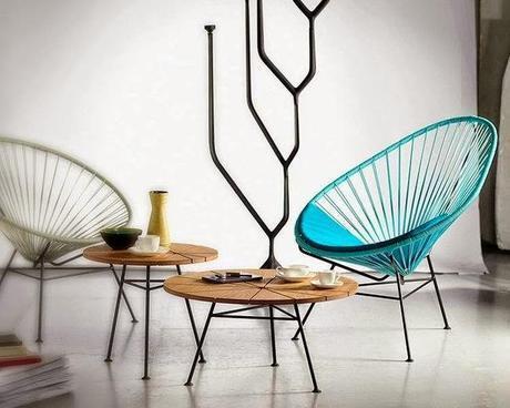 Inspiración Retro...Acapulco Chair