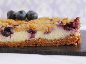Blueberry cheesecake bars barritas tarta queso arándanos