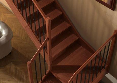 Ideas para el revestimiento de escaleras dale ese toque especial paperblog - Revestimiento para escaleras ...