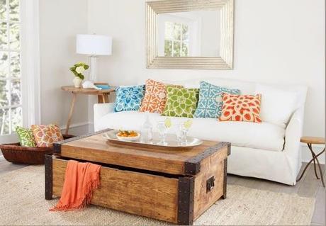 Baules antiguos para decoracion paperblog - Baules de madera para decorar ...
