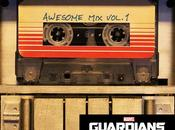 Original caratula awesome vol.1, soundtrack guardianes galaxia