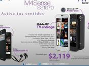 presenta nuevo smartphone Sense SS1070 super precio