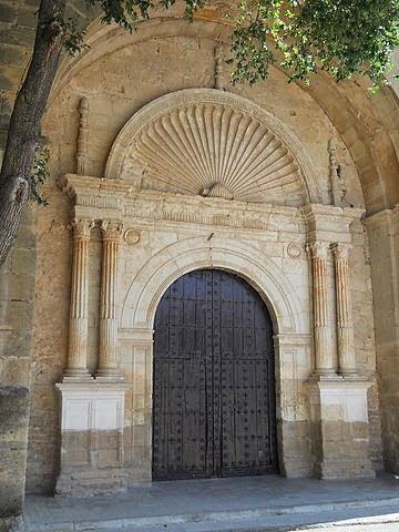 Portal de la iglesia