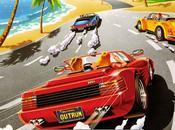 OutRun, Ferrari descapotable rubia