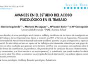 Acoso psicológico trabajo García-Izquierdo