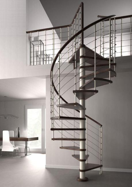 5 modelos de escaleras para interior funcionales y de for Ver escaleras de interior