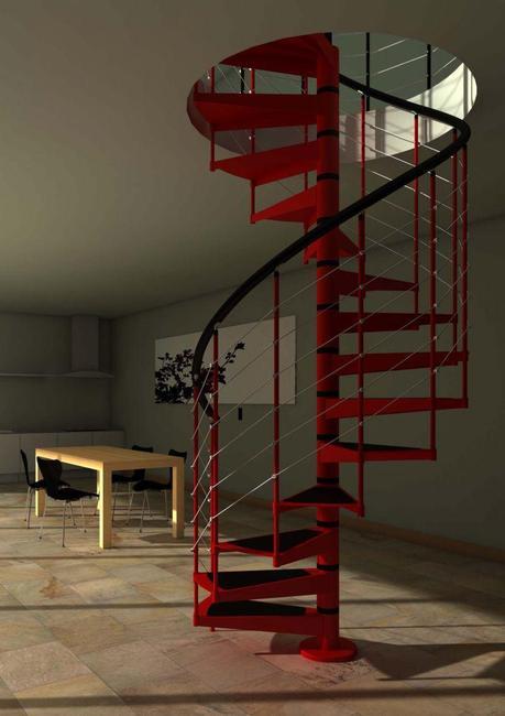 5 modelos de escaleras para interior funcionales y de - Modelos de escaleras ...