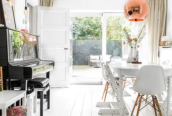 Una delicada casa en amsterdam paperblog for Amsterdam casa rosa