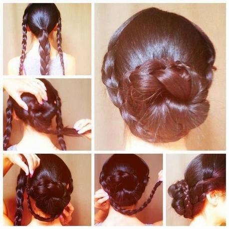 Peinados recogidos sencillos paso a paso imagui - Peinados faciles recogidos paso a paso ...