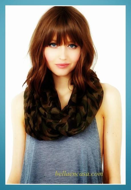 Cortes de cabello degrafilado para rostro redondo