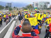 Multitudinaria recepción selección Colombia