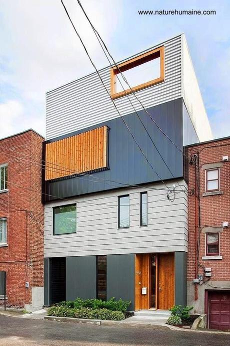 Fachadas de casas modernas y contempor neas paperblog for Fachadas de casas modernas entre medianeras