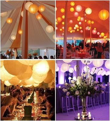 decoracion con luces para bodas