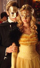 Serena Van Der Woodsen in older Masquerade Ball?