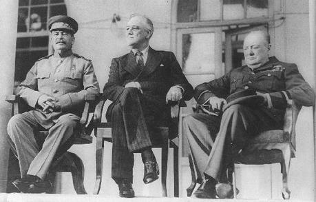 Las tres conferencias: Teherán, Yalta, Postdam (I)
