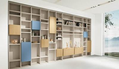 estanteras de diseo customizadas con ikea lack - Diseo Ikea