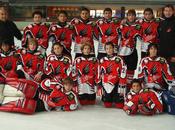 Hockey Hielo: Intensa actividad Aramón Jaca categorías inferiores.