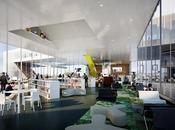 Biblioteca multimedia. Caen, Francia.