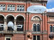 Instalación drones London Design Festival cancelada razones seguridad