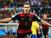Klose, máximo goleador mundiales