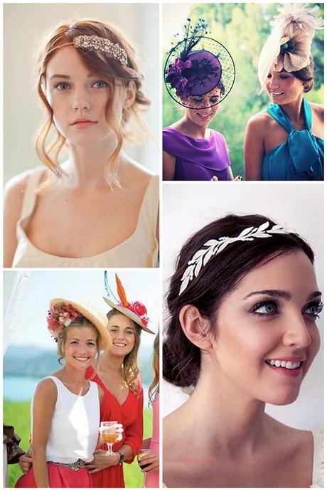 Especial bodas peinados y tocados para invitadas paperblog - Peinado para boda de dia ...