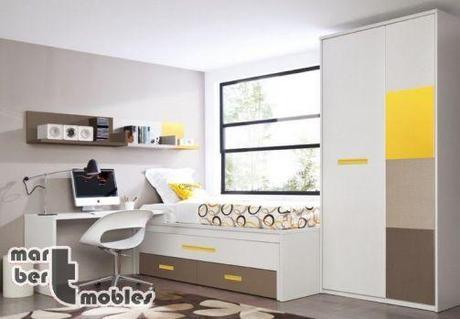 Ideas para la decoraci n de dormitorios juveniles peque os - Soluciones dormitorios pequenos ...