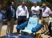 Hospital Quirón Campo Gibraltar dona silla ruedas anfibia playa Palmones