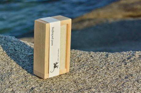 Lo nuevo en packaging: envases hechos de arena