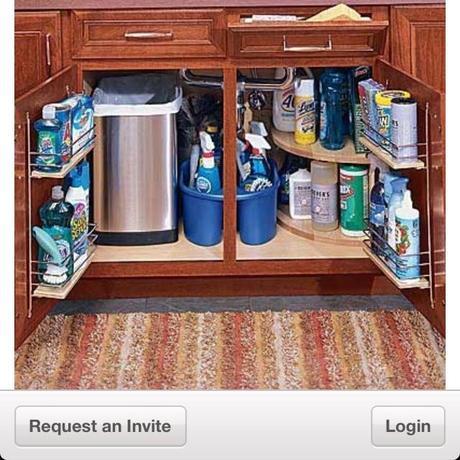 Organizando el bajo fregadero paperblog for Organizador bajo fregadero ikea