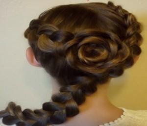 trenza holandesa peinados de princesa