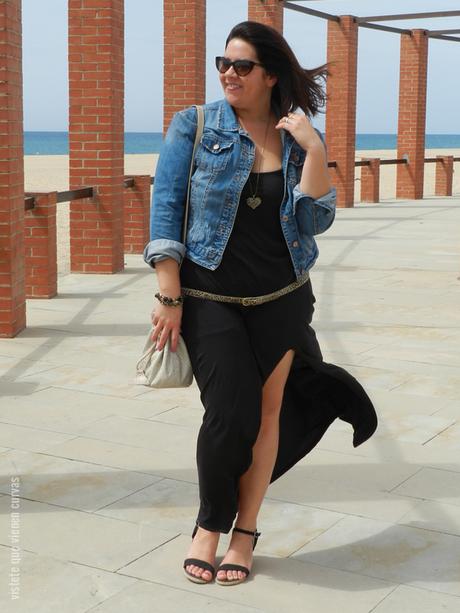 Hu0026M u00b7 Black Long Dress Outfit - Paperblog