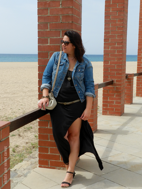 H&M · Black Long Dress Outfit